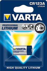 VARTA CR123A Foto Photo Lithium Foto Batterie CR 123A 3V 6205 MHD 2027