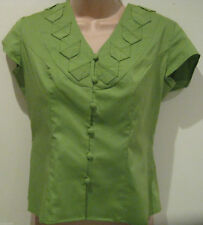 Petite Cotton V Neck Semi Fitted Women's Tops & Shirts