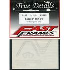 Decals Fast Frames Hasegawa Sabre F-86F-30 1/48 TRUE DETAILS 41023