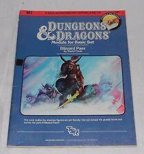Dungeons & Dragons Module For Basic Set M1 9067 Book Magazine TSR 1983 D&D