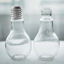 New Summer Bulb Water Bottle Cute Brief Fashion Cute Milk Juice Light Bulbs Cup