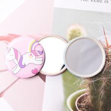 Effizient 1 Stück Mini Spiegel Dia 7 Cm Einseitig Mini Tasche Make-up Spiegel Kosmetische Kompakte Metall Spiegel Schminkspiegel