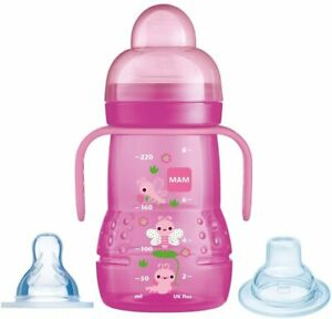 *MAM Trainer+ 220ml, Baby Cup from 4+ M, Trainer Cup with Spout & Teat* £8 PROMO