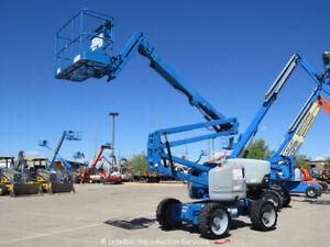 2012 Genie Z-45/25J 45' 4WD Articulating Boom Lift Man Aerial Hyd Jib bidadoo