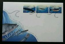 Finland Fish 2001 Ocean Marine Life Underwater (stamp FDC)