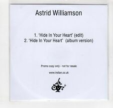 (GM835) Astrid Williamson, Hide In Your Heart - 2015 DJ CD