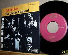 "Rolling Stones - Satisfaction/The Under Assistant - 66 DE Decca DL 25200  7"" m-"
