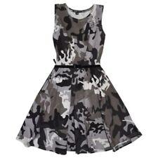 Abbigliamento grigio in estate per bambine dai 2 ai 16 anni 100% Cotone