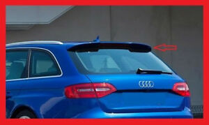 AUDI A4 B8 8K 2008 - 2014 RS4 LOOK ROOF SPOILER  +++ NEW +++ NEW +++ NEW +++