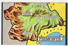 figurina TUTTA ITALIA FOL. BO SERIE NUMERO 1 NEW N. 13 PIEMONTE