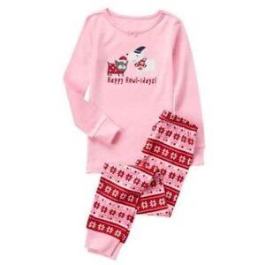 NWT Gymboree Christmas Gymmies Puppy Dog Happy Howl-idays Pajama Set Many Sizes
