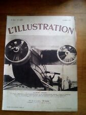 L'ILLUSTRATION N°4804 30 MARS 1935 ACCIDENT AVION BRAZAVILLE EDOUARD RENARD