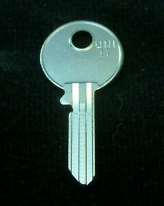 "62DK British Key Blank ""FNR"" 1946-1957 JAGUAR MG MGA Sunbeam Morris Morgan Nash"