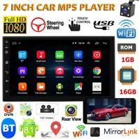 "2DIN 7"" Android GPS Navi Autoradio Stereo WiFi Quad Core MP5 Player FM Radio+Cam"