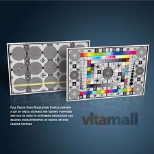 Set of Large High Resolution Test Charts for Nikon AF DC Nikkor 135mm f/2.0D