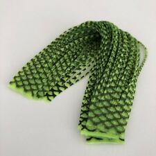HARELINE FROG CHARTREUSE / PEARL FLAKE CRAZY RUBBER LEGS   FLY TYING MATERIALS