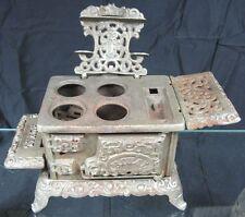 Vintage 1900's Antique Cast Iron Miniature Stove Royal