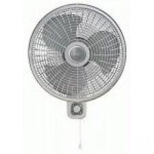 """Lasko M16900 16"""" Osc Wall Mount Fan 3 Spd"""