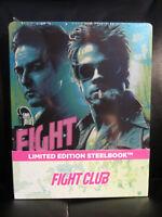Fight Club Blu-Ray Steelbook [Czech] Region Free New Sealed Mint Brad Pitt