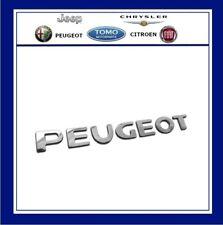 Genuine Peugeot 207 MK2 Peugeot Tailgate Badge - Letters Emblem  2007/- 8665PW
