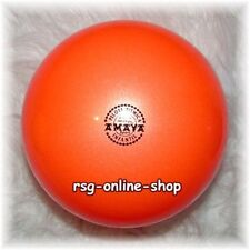 RSG Ball JUNIOR BALL Gymnastikball ORANGE metallic 150-170mm 300g NEU!
