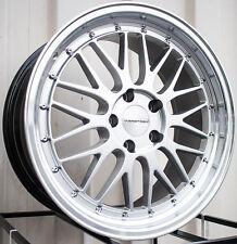 Varrstoen Es1 18X8.5 5X100 Et35 Hyper Silver W/Machine Lip (1 Wheel Only)