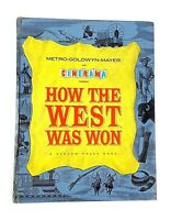 How the West Was Won an MGM Movie Book 1963 Gregory Peck