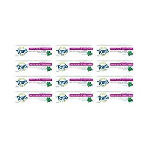 Tom's of Maine Fluoride Free Antiplaque & Whitening Toothpaste, Peppermint, 1...