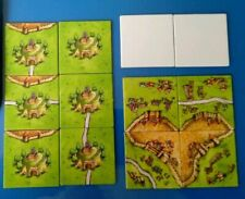 RARE Carcassonne Mini Expansion: Cult, Siege, Creativity, Old Design