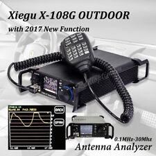 Xiegu X108G 20W OUTDOOR VERSION 0.5-30MHz HF TRANSCEIVER QRP SSB-CW Funkgerät DE