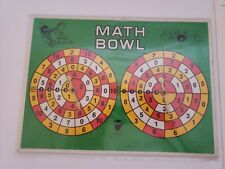 Mr Math Games Math Bowl w Instructions and Score Sheets