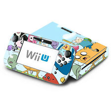 Skin Decal Cover for Nintendo Wii U Console & GamePad - Adventure Time