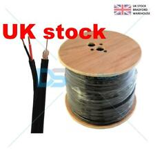 100m Shotgun RG59 Coaxial Cable CCTV Security Camera - Power and Video