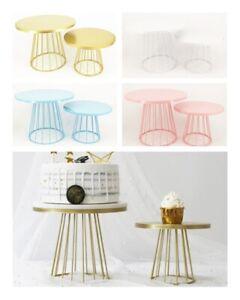 Metal Cake Stand Wedding Dessert Display Rack Cupcake Pedestal Stand Tray Holder