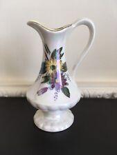Decorative Crown Devon Fieldings Lustre Jug - Flower