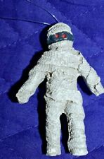 """Estate Halloween Decor Ornaments to hang on Tree or.Resin 2-1/2"""" Mummy Look"""
