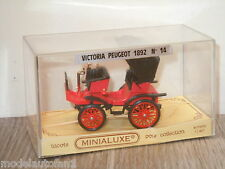 Victoria Peugeot 1892 van Minialuxe 14 France in Box 1:43 *18878