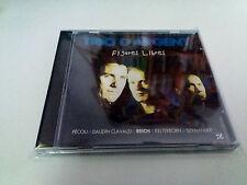 "TRIO D'ARGENT ""FIGURES LIBRES"" CD 6 TRACKS COMO NUEVO PECAU DAUDIN CLAVAUD REICH"