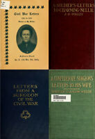 51 RARE OLD BOOKS ON THE AMERICAN CIVIL WAR LETTERS - HISTORY & GENEALOGY ON DVD