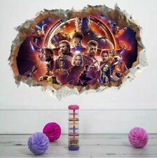 Avengers Endgame Wall Sticker Superhero Marvel Comics Decal Bedroom Kids 20x24