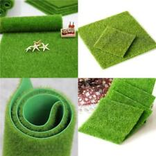 Simulation Green Grass Mat Artificial Lawns Small Turf Carpets Fake Sod Garden W