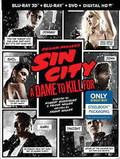 Frank Millers Sin City: A Dame to Kill For Blu-ray Steelbook Limited Edition Oop