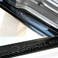 Smart 453 ForTwo ForFour Carbon fiber Scuff Plate Door Sill Guards Car Parts Fit