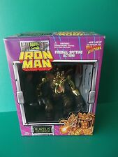"AUREUS GOLD DRAGON IRON MAN MARVEL COMICS TOY BIZ 7.5""IN ACTION FIGURE 1995"