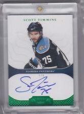 2011-12 Dominion Gold Rookie Autograph Scott Timmins 2/5