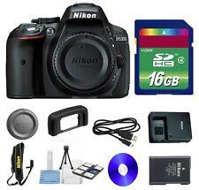 Nikon D5300 24.2MP Digital SLR Camera Body + 16GB Memory Card + Cleaning Kit