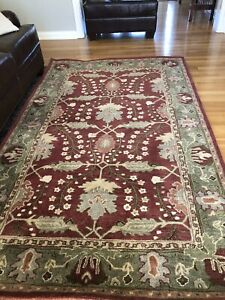 Pottery Barn 5 X 8 Ft Size Area Rugs For Sale Ebay