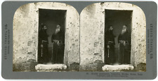 Stereo, Stereo Travel Co., Kindly gentlemen, Capuchin Monks, Rome, Italy Vintage