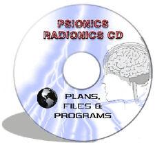 RADIONIC PSIONIC MIND MACHINE Psychic Psi Plans PSYCHOTRONIC BLACK BOX DEVICE