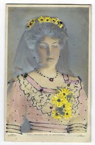Vintage Postcard Princess Ena of Spain Bas Relief Card Early 1900's